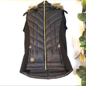 Michael Kors sleeveless parka
